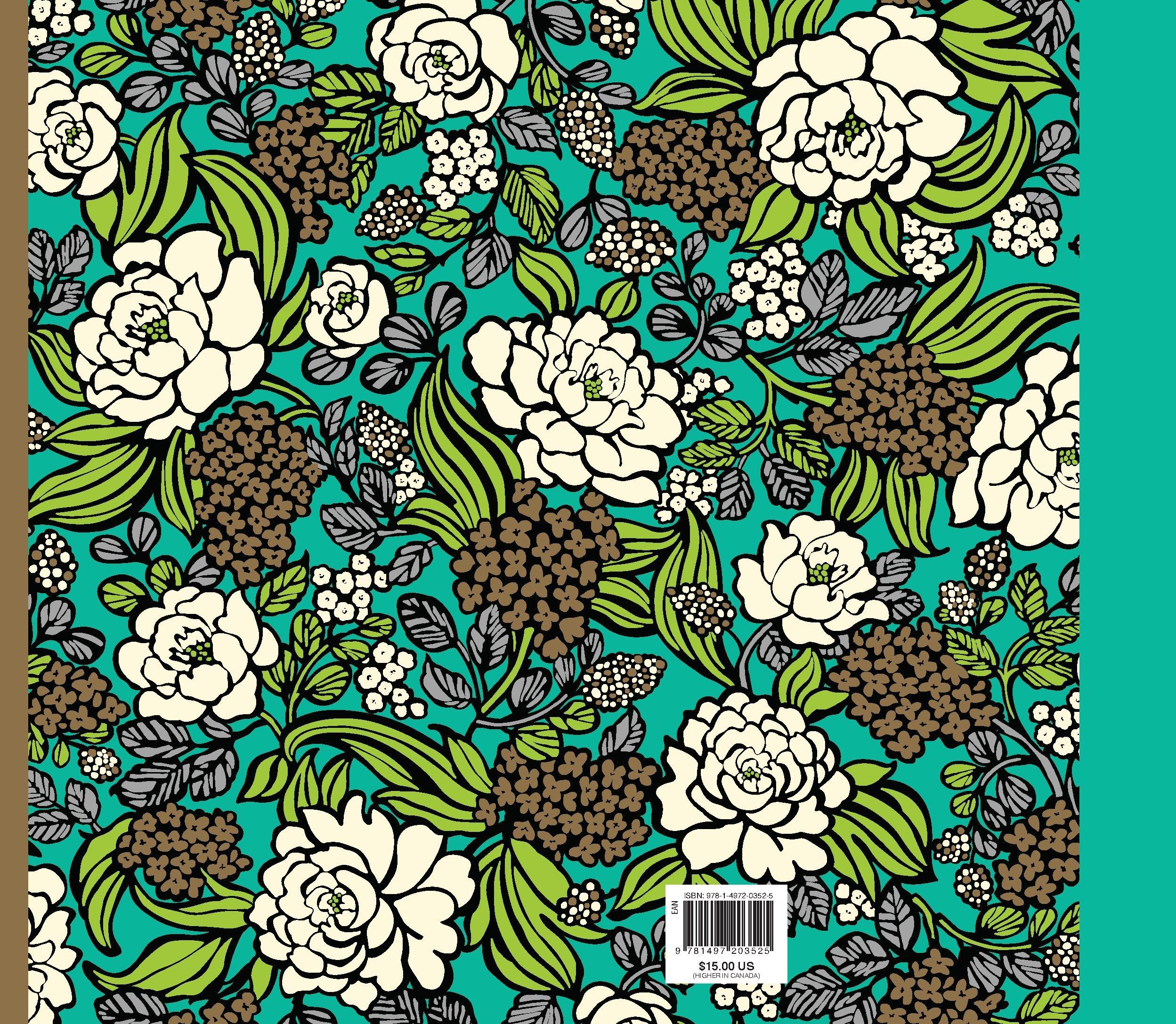 Amazon.com: Vera Bradley Seize the Day Coloring Book Pattern ...