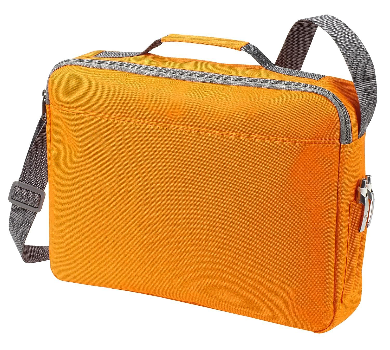 Umhängetasche Messenger Bag Notebook Laptop Tasche in anthracite
