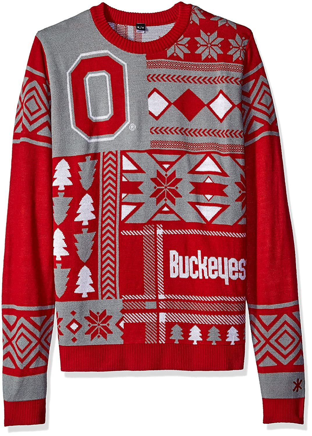 NCAA Patches Ugly Sweater - Pick Team