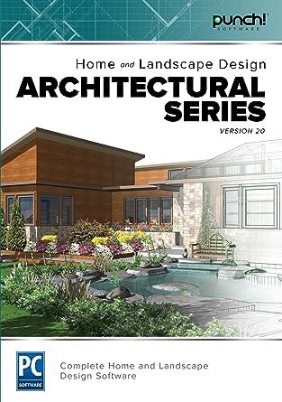 amazon com punch home landscape design architectural series v20