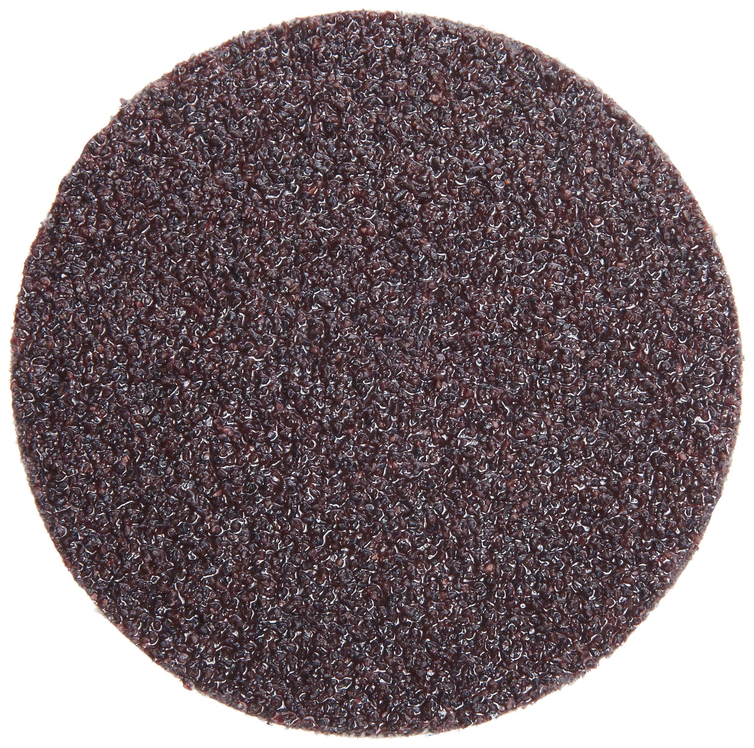 3M Roloc Disc 361F, Cloth, TR Attachment, Aluminum Oxide, 3'' Diameter, 36 Grit (Pack of 50)