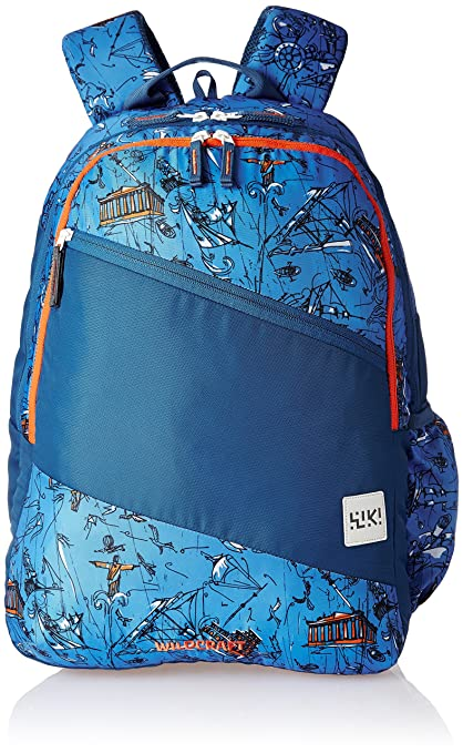 5e354d050407f Wildcraft Polyester 29 Ltrs Blue School Backpack (Wiki 2 Doodle 1):  Amazon.in: Bags, Wallets & Luggage