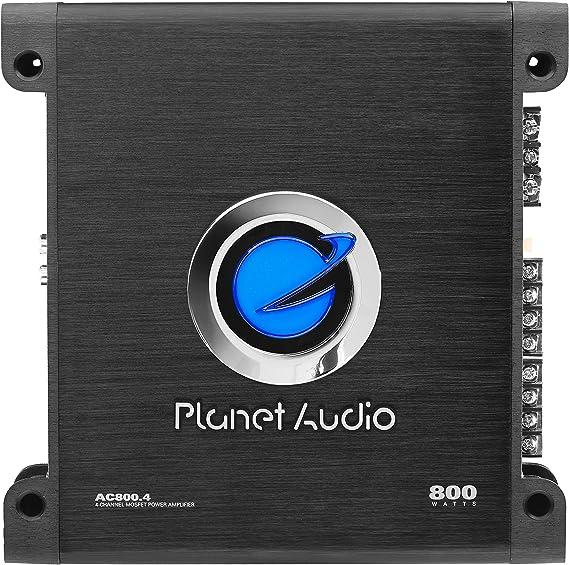 Planet Audio AC800.4 4 Channel Car Amplifier - 800 Watts