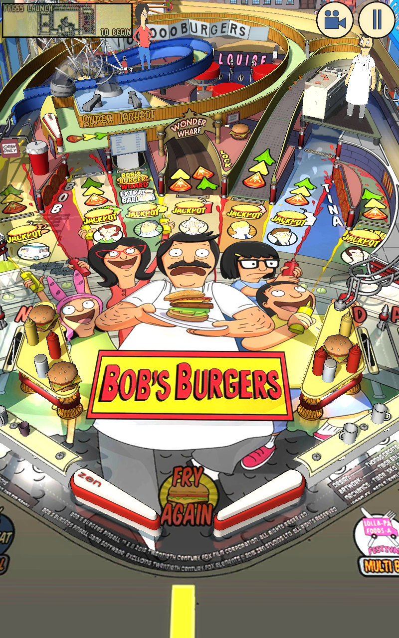 Amazon Gift Card Code >> Amazon.com: Bob's Burgers Pinball: Appstore for Android