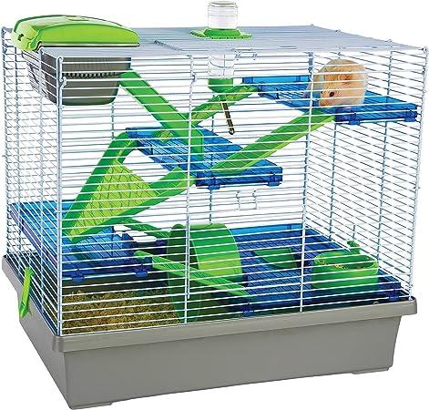 Amazon Com Pico Xl Silver Green Hamster Small Animal Home Cage Pet Supplies