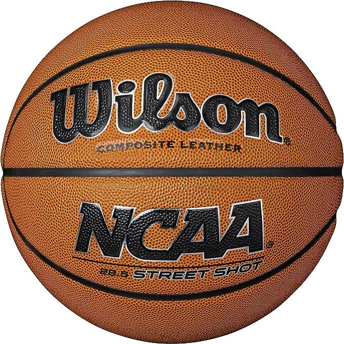 Wilson NCAA Street Balón para Basketball, Unisex Adulto, marrón, 7 ...