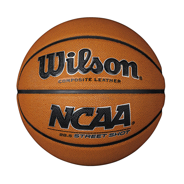 Wilson Ncaa Street Shot Palla Da Basket, Unisex – Adulto, Marrone, 7 Unisex - Adulto WTB0945ID