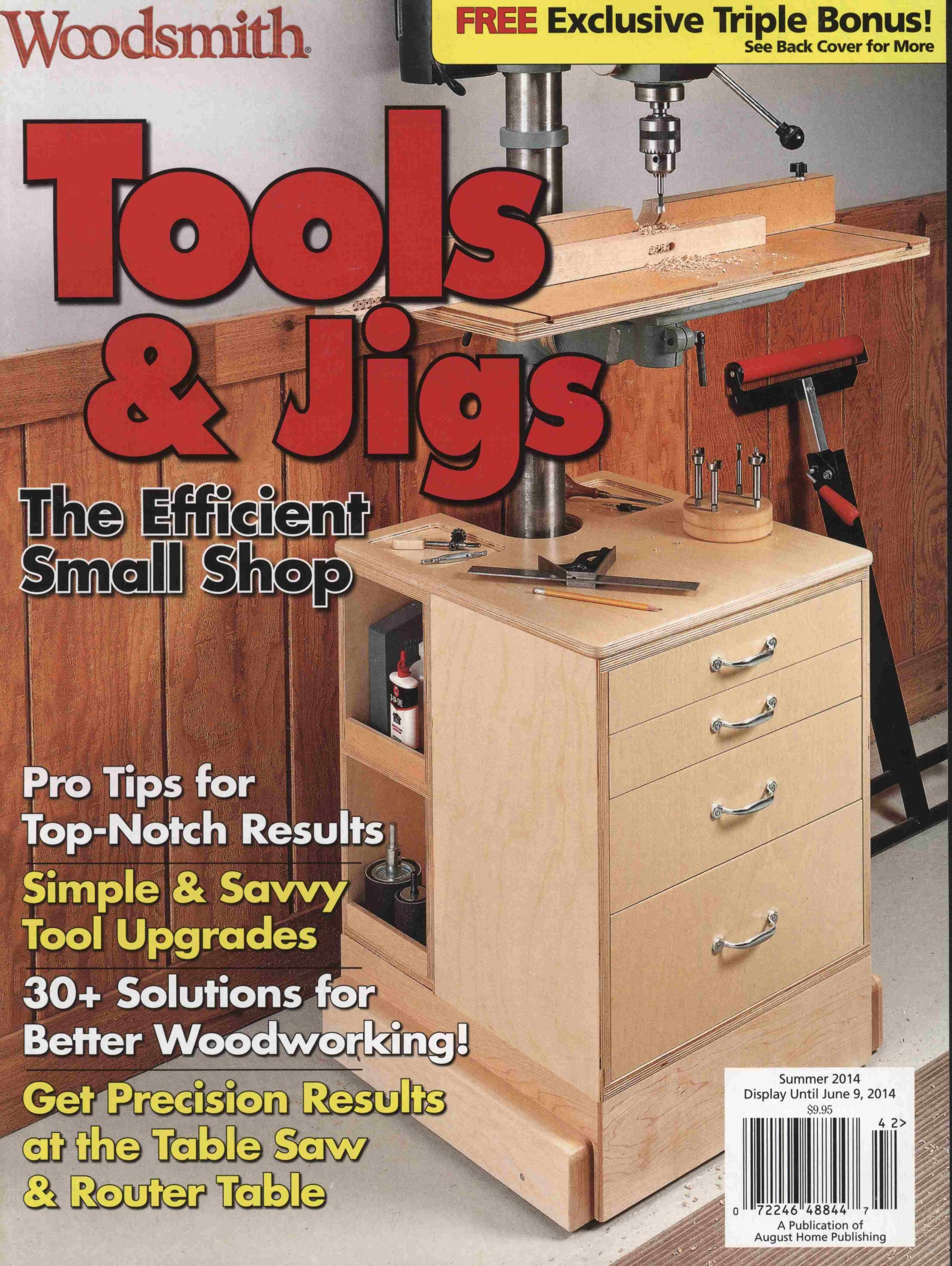 Woodsmith Specials Tools And Jigs The Efficient Small Shop