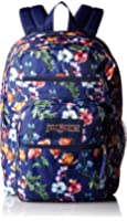 JanSport Big Student Classics Series Backpack - Multi Navy Mountain Meadow
