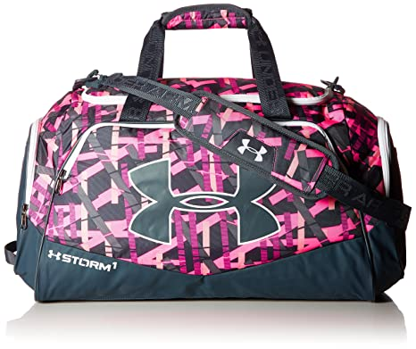 pink under armour gym bag