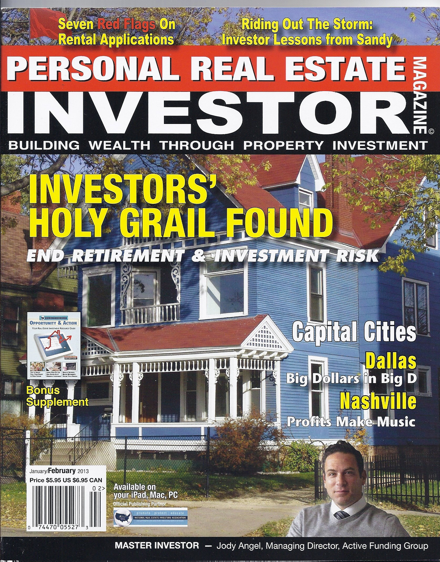 Read Online Personal Real Estate Investor (January/February 2013 (Investors' Holy Grail Found)) PDF