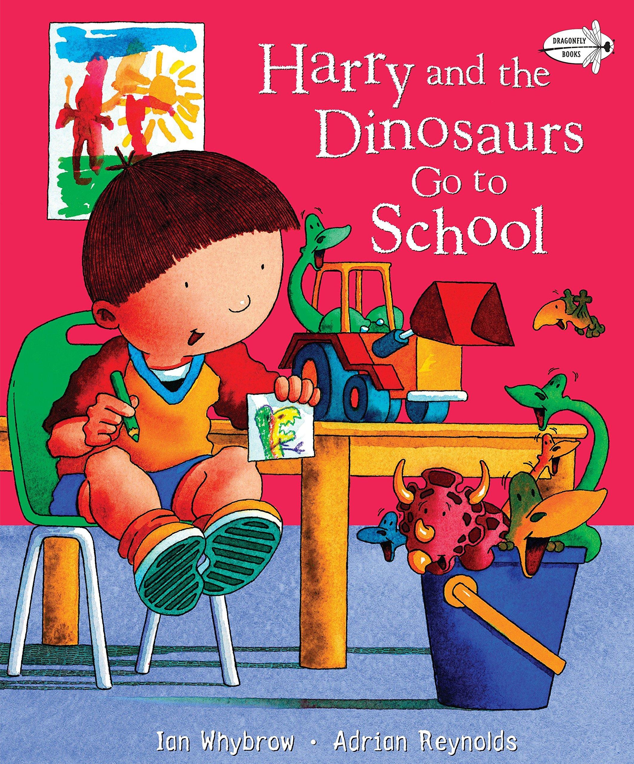 Harry and the Dinosaurs Go to School: Amazon.co.uk: Ian Whybrow ...