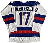 #21 Mike Eruzione 1980 Miracle On Ice USA Hockey 17 Jack O'Callahan 30 Jim Craig Stitched Hockey Jerseys