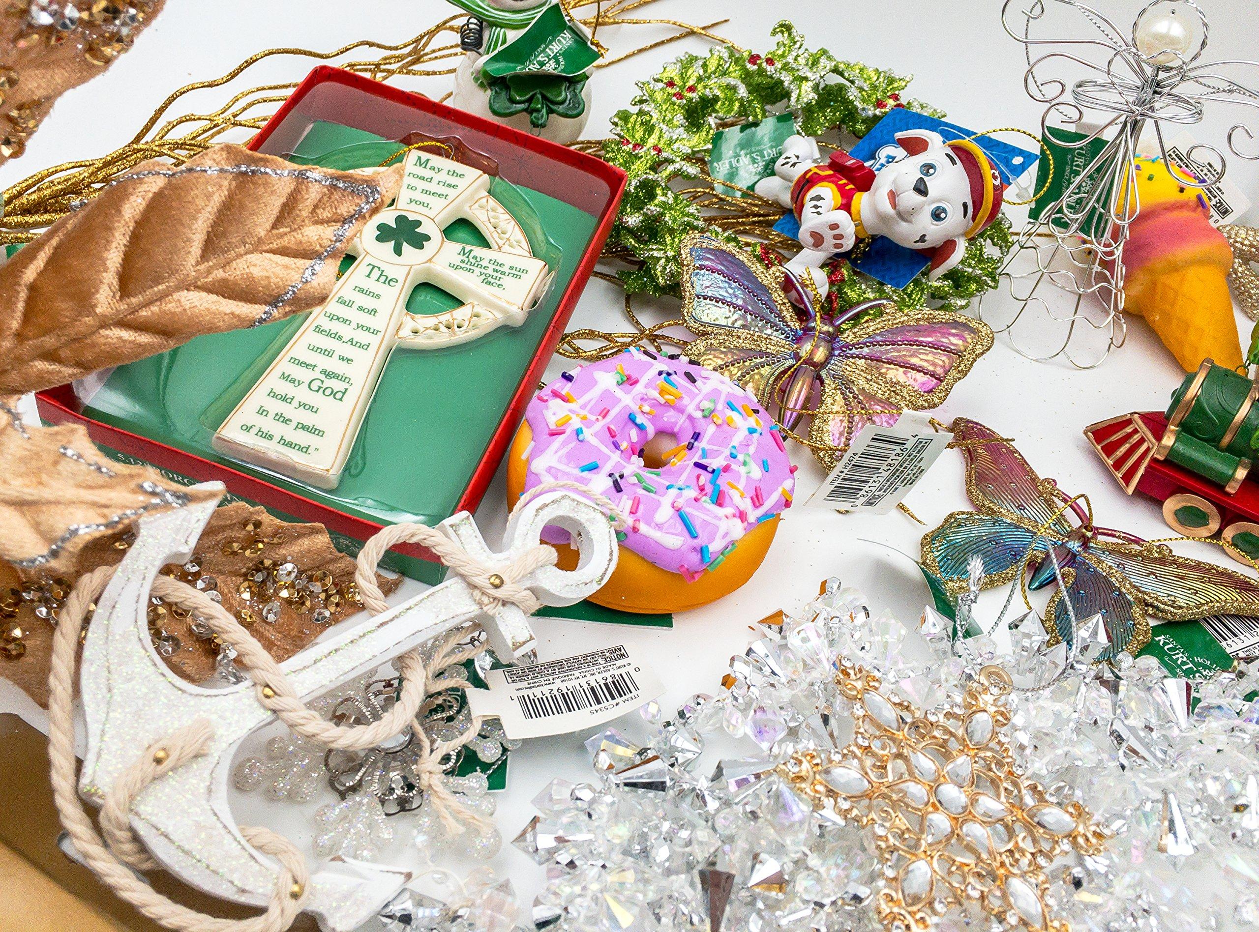 JZ Bundles Starter Set - Best of Christmas Option C - Kurt Adler - 37-Piece Bundle - A Bundle of Christmas Ornaments Great Gift by JZ Bundles (Image #4)