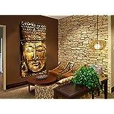 Quadro Decorativo Buda Dourado 70x150