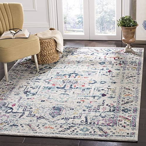 Safavieh Madison Collection MAD929F Oriental Boho Chic Distressed Non-Shedding Stain Resistant Living Room Bedroom Area Rug