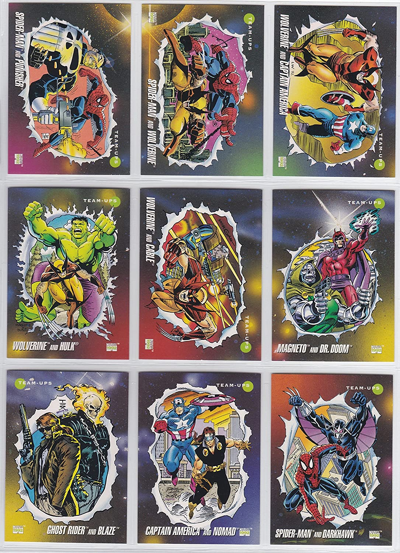 Amazon.com: 1992 Marvel Universe Series III Base juego de ...