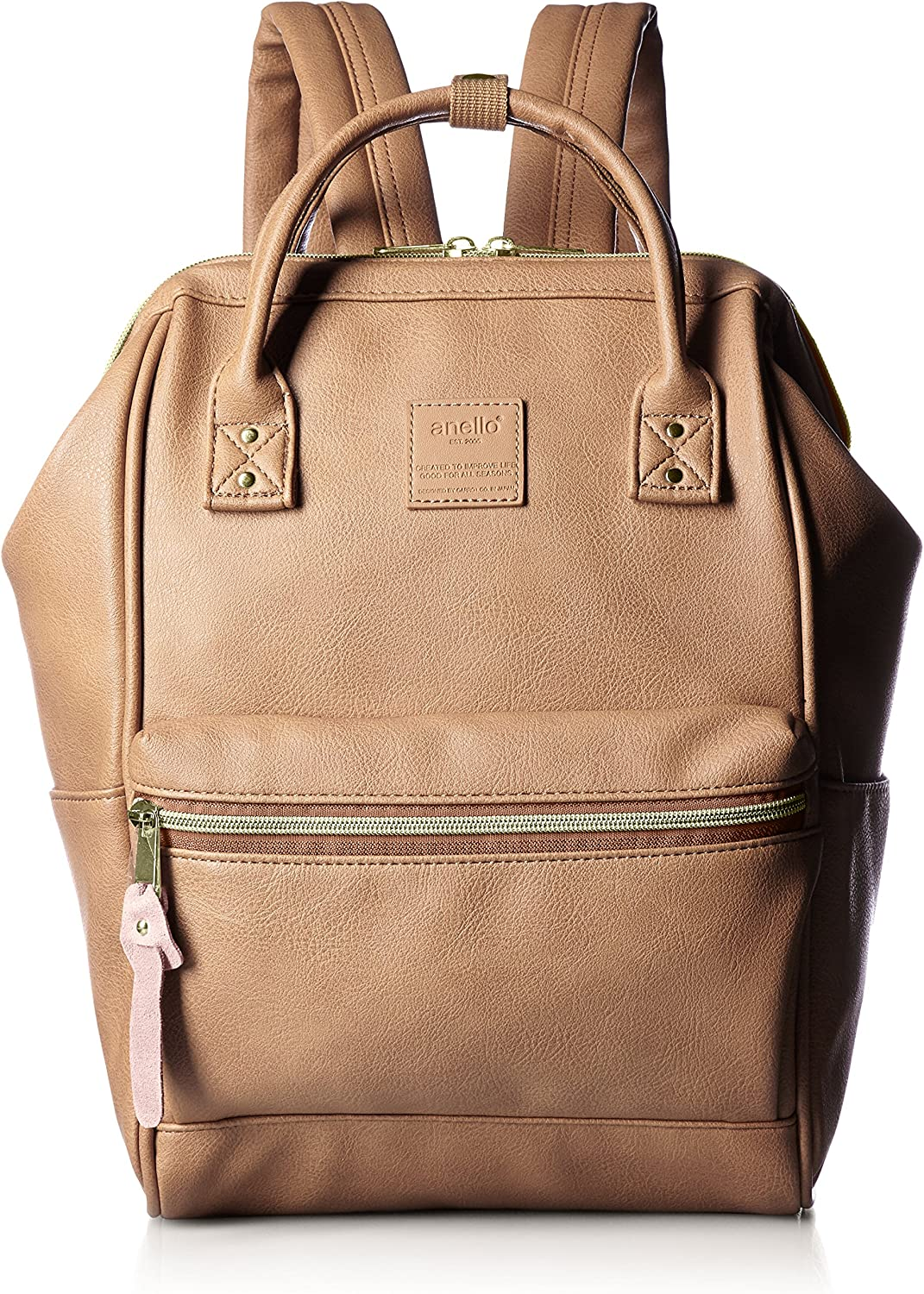 anello faux leather backpack'small AT-B1212 PI PI