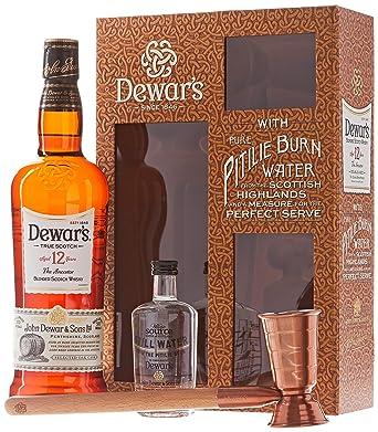 f09f42def2df Dewar's 12 ans Whisky Single Malt 70 cl 40° - Coffret: Amazon.fr ...