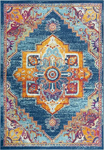 Rizzy Home Rothport Collection Vintage Bohemian Area Rug