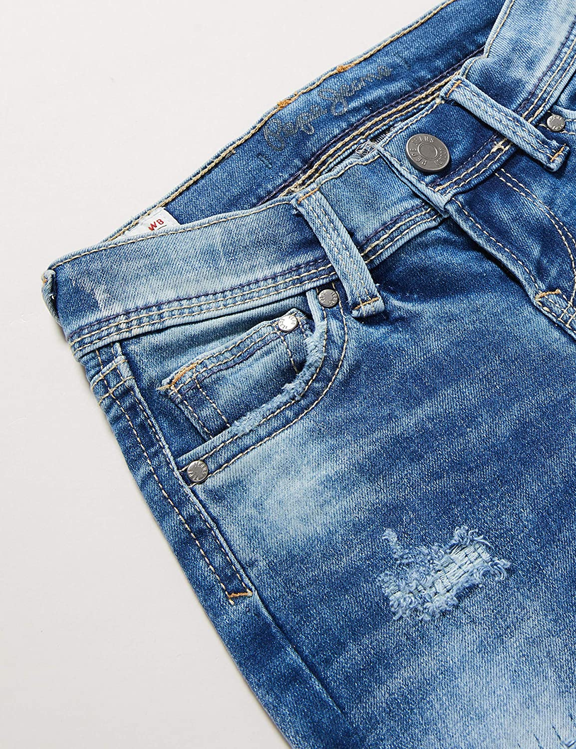 Pepe Jeans Finly Repair Jeans Bambino