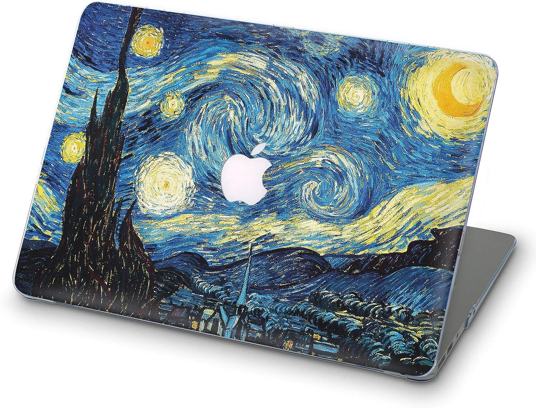 ZVStore Van Gogh MacBook Case Art Design Funda protectora de plástico Estuche rígido para MacBook (Pro 15 (A1707 y A1990) 2016 2017 2018, Noche estrellada): Amazon.es: Electrónica