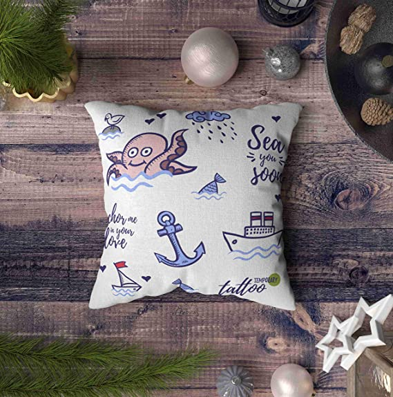 Sew Sweet Pillowcases NEAT FISHING BOATS WITH GULLS STANDARD//QUEEN PILLOWCASE