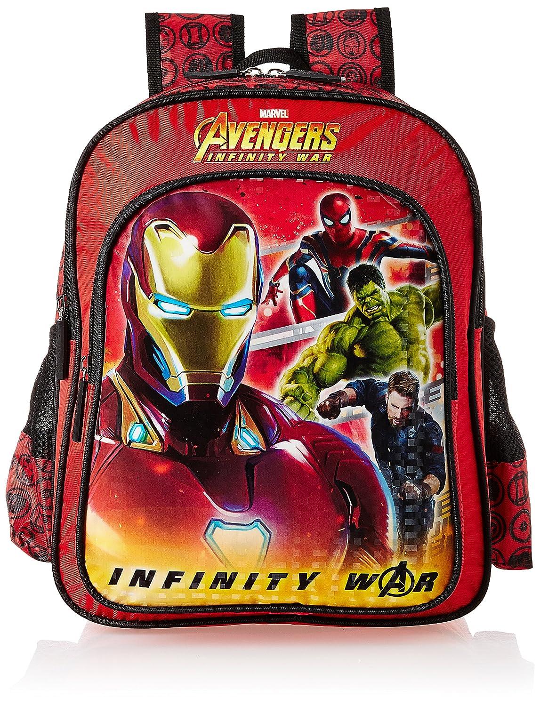 Avengers Inifinity War Iron Man Red School Bag for Children 