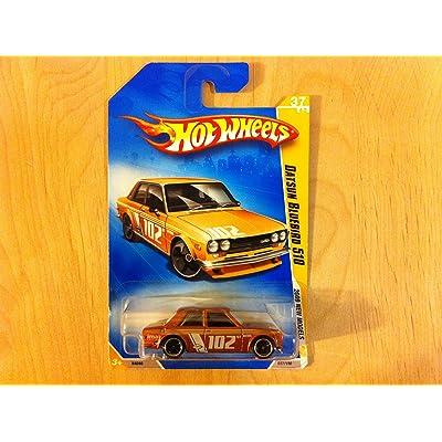 2009 Hot Wheels 037/190 Datsun Bluebird 510 Copper 1:64: Toys & Games