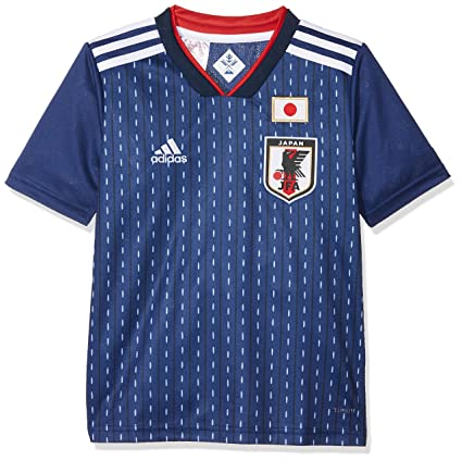 Adidas Japón Camiseta de Equipación, Niños, Azul (azuosc/Blanco), 128