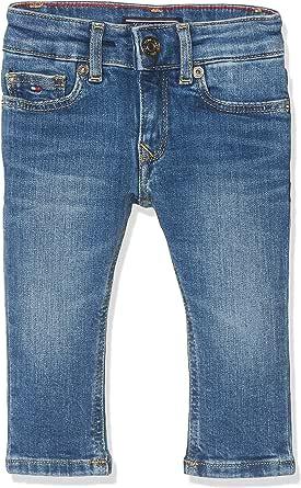 Tommy Hilfiger Girls Nora Skinny Nyms Jeans para Niñas