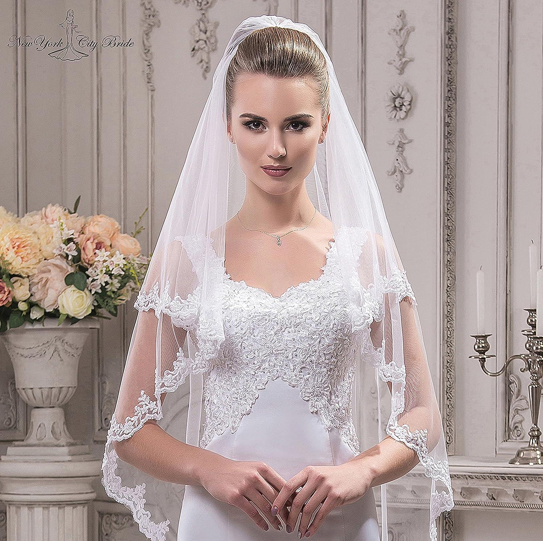 Bridal Veil Ella from NYC Bride collection