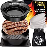 Mountain Grillers Burger Press Patty Burger Maker - Non Stick Hamburger Mold Kit for Easily Making Delicious Stuffed…