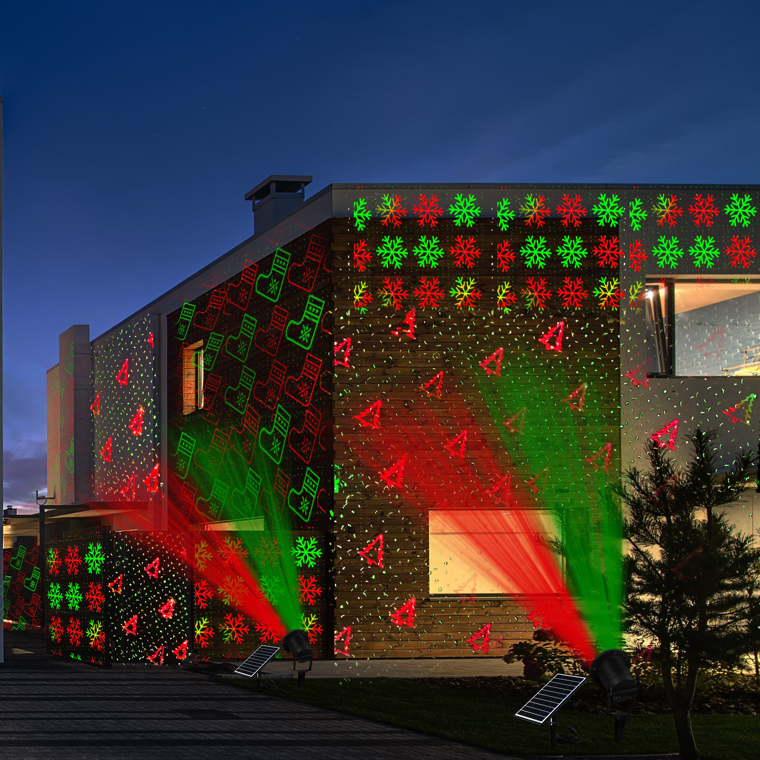 xmas and red patterns laser different lasers via co led garden light projector green lighting ltd technology lights outdoor sparks