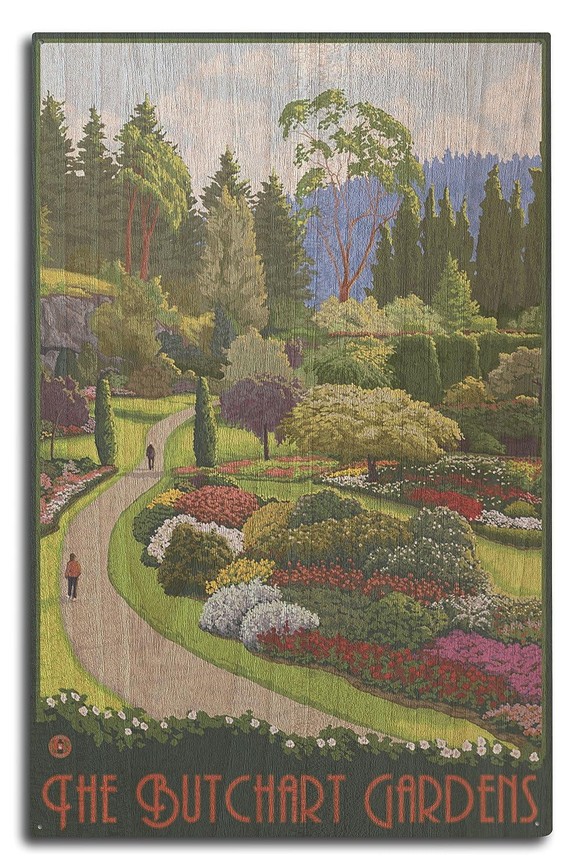 値頃 Brentwoodベイ、カナダ – Butchart Wood Gardens x 9 x x 12 Art Print LANT-15855-9x12 B07367J7BG 10 x 15 Wood Sign 10 x 15 Wood Sign, 名和町:ff7583a2 --- 4x4.lt
