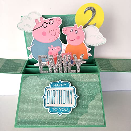 Admirable Amazon Com Name Age Personalised 3D Happy Birthday Card For Funny Birthday Cards Online Fluifree Goldxyz
