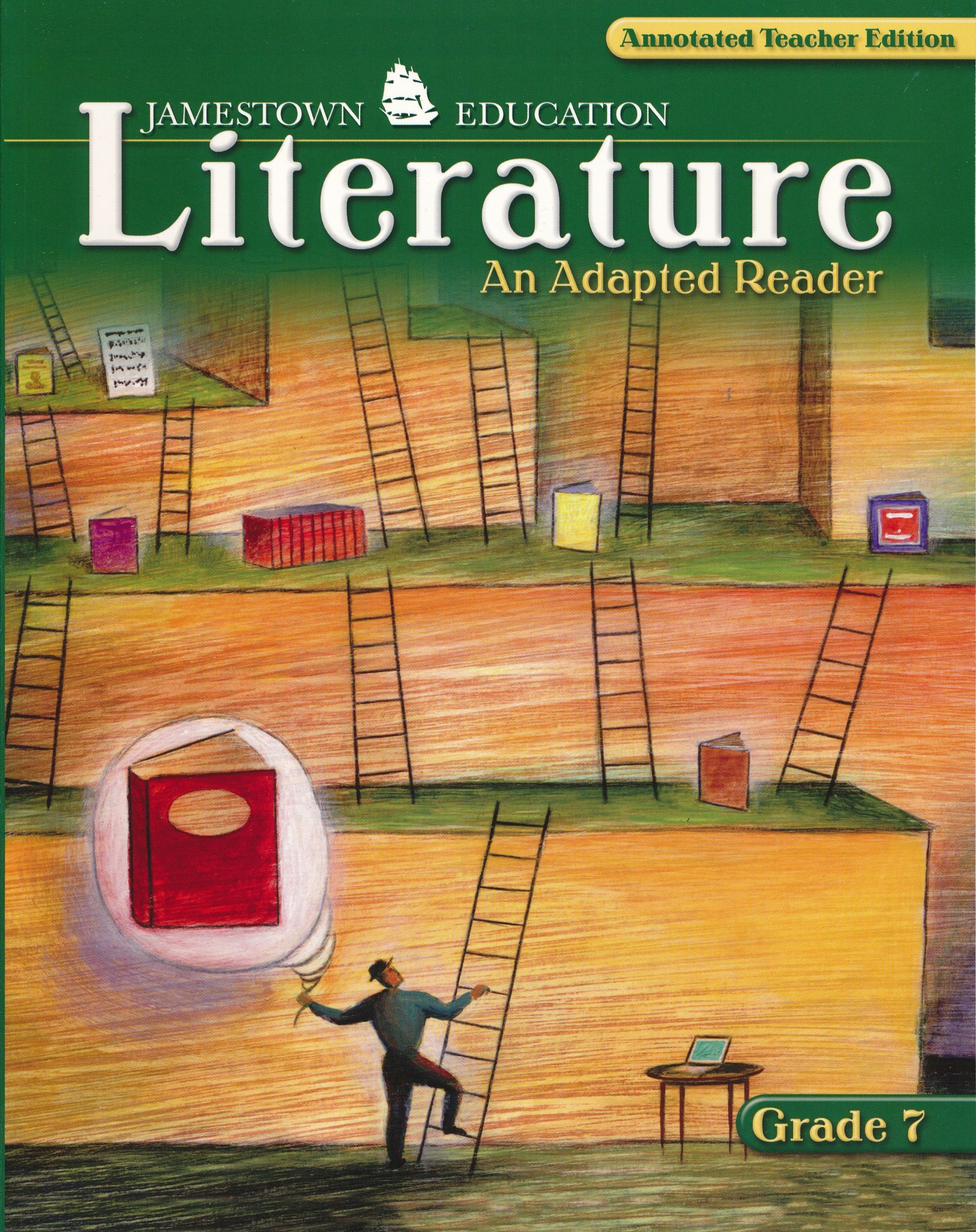 Glencoe JamesTown Literature An Adapted Reader Grade 7 Annotated
