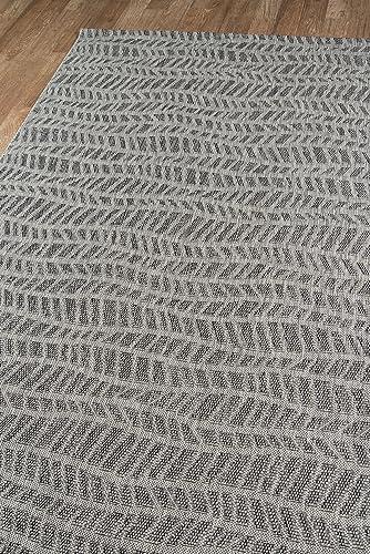 Novogratz Villa Collection Emilia Indoor Outdoor Area Rug, 2 0 x 3 0 , Grey