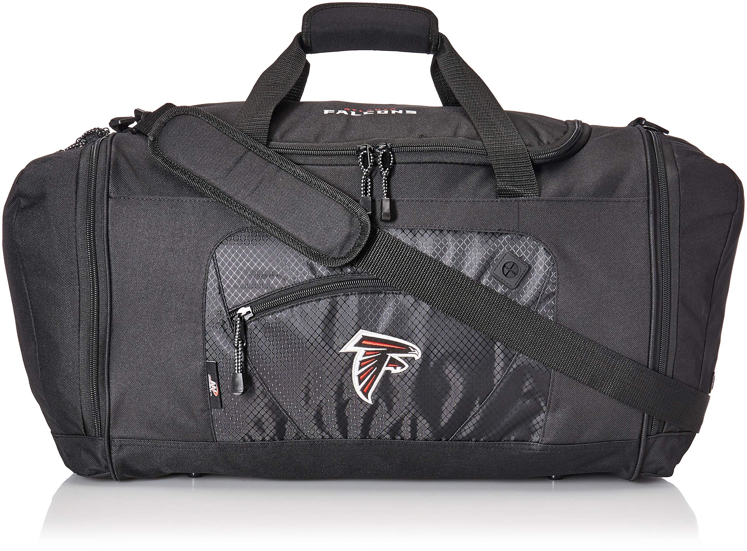 The Northwest Company Officially Licensed NFL Atlanta Falcons Unisex ''Roadblock'' Duffel Bag