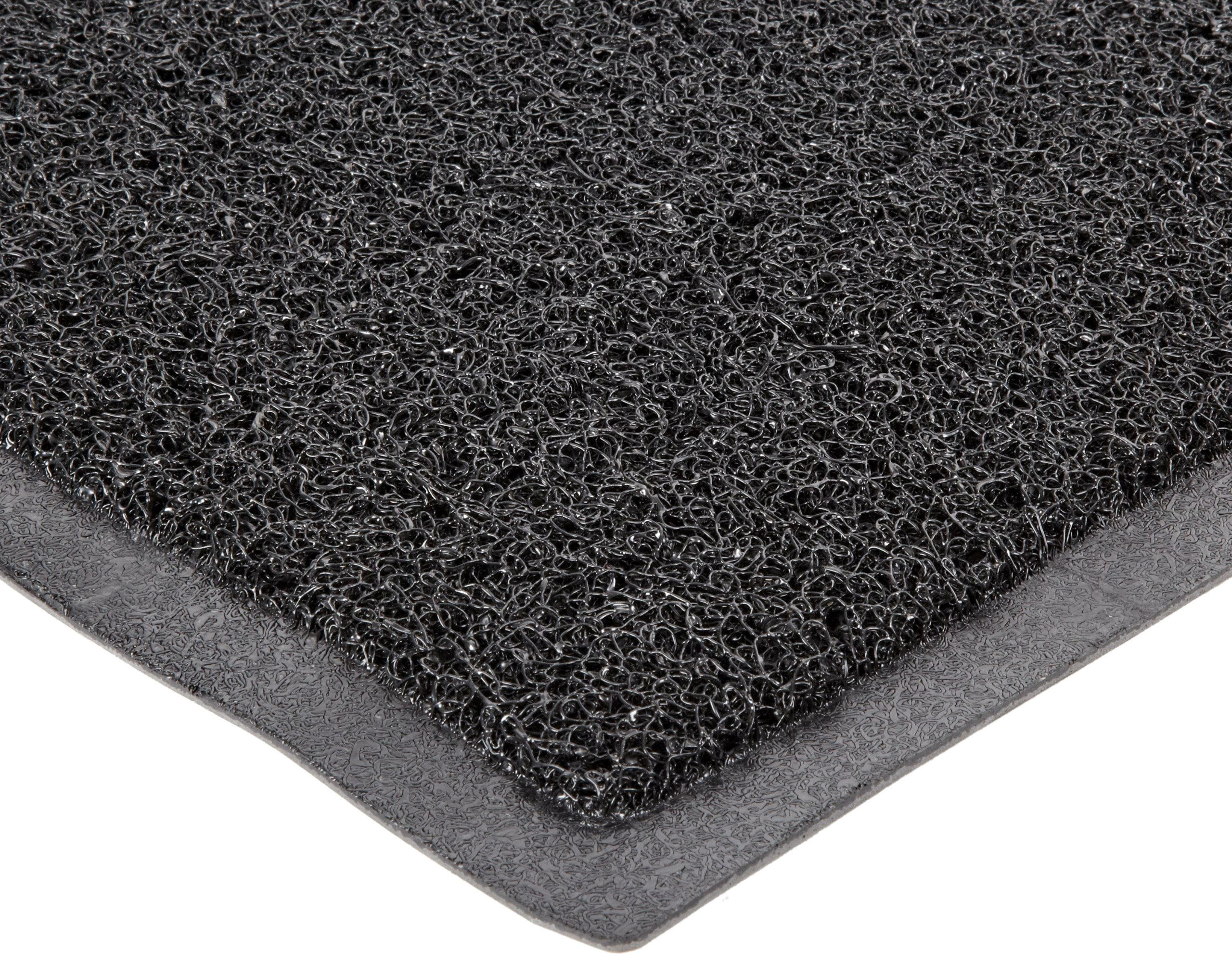 Durable DuraLoop Indoor/Outdoor Entrance Mat, 2' x 3', Black