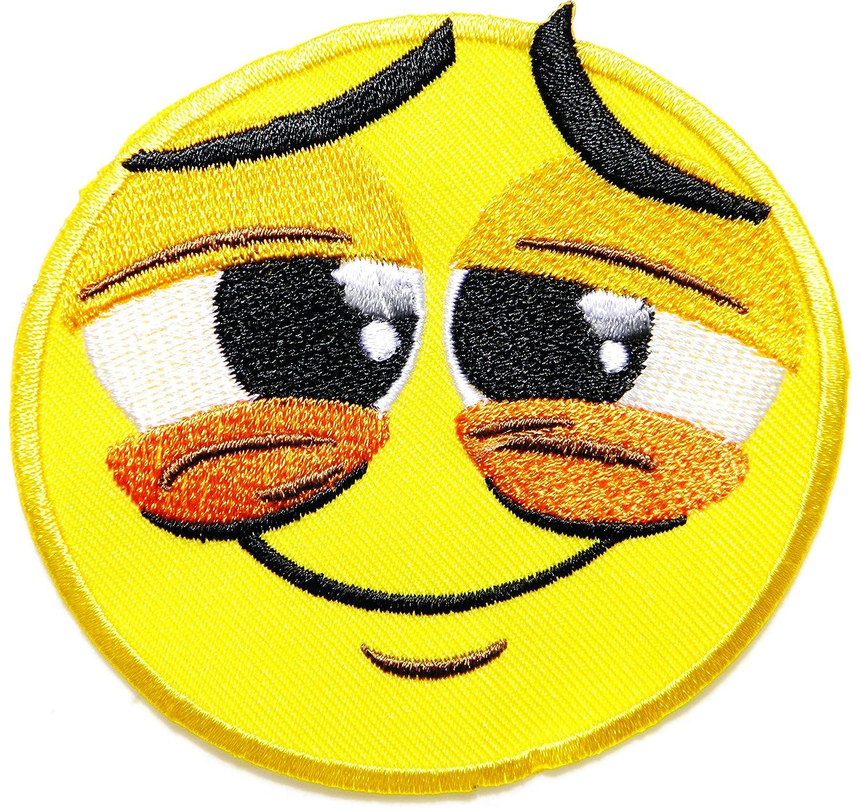 Parche para disfraz de emoticono de cara sonriente para niña, con ...
