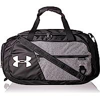 Under Armour Undeniable Duffle 4.0 kompaktowa torba sportowa, wodoodporna torba na ramię, czarna (Graphite Medium…