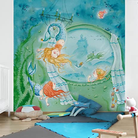 Non woven Wallpaper Matilda is an acrobat Mural Square wallpaper