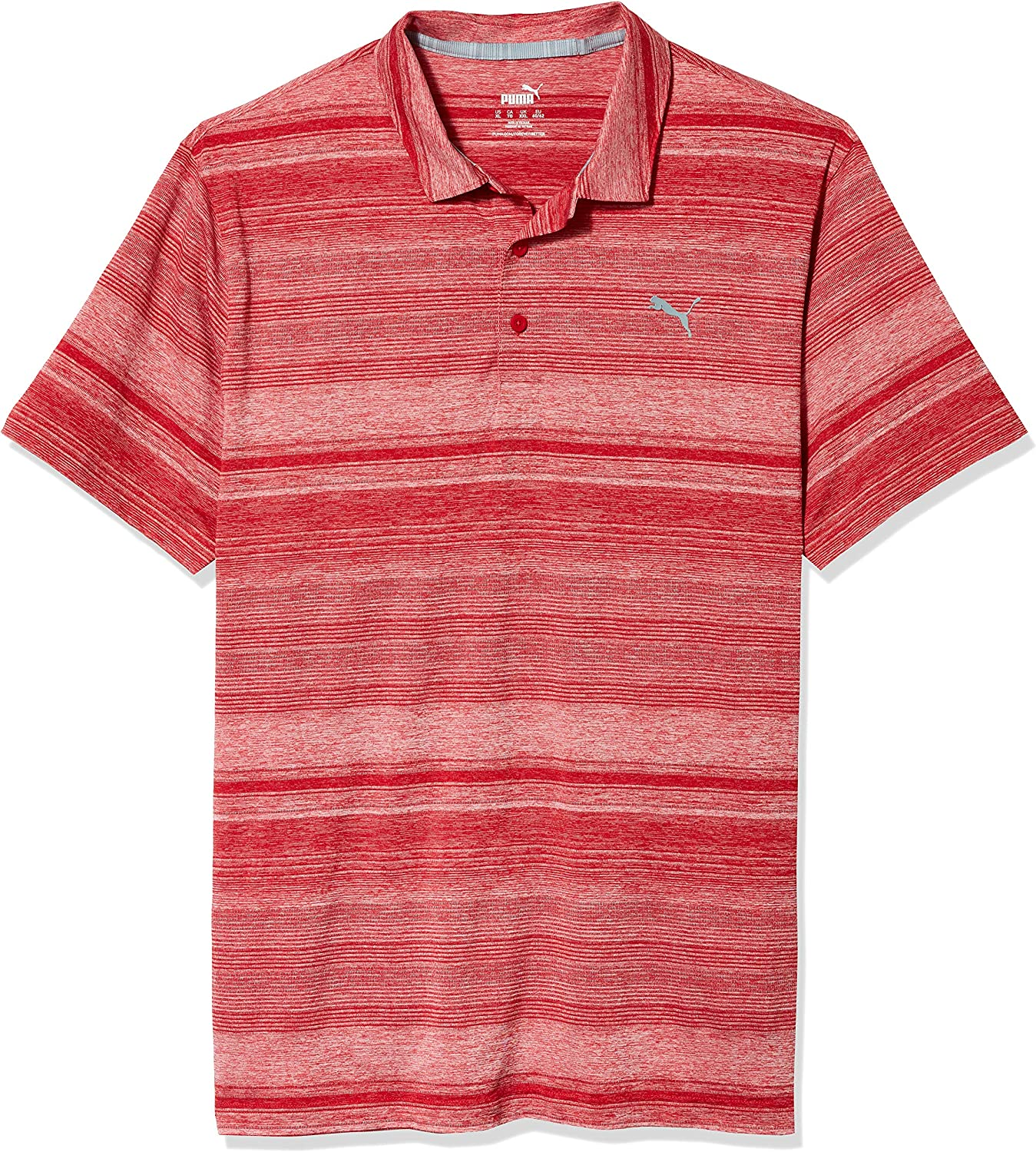 Luxury goods PUMA Golf 2020 Men's Stripe Variegated Gifts Polo