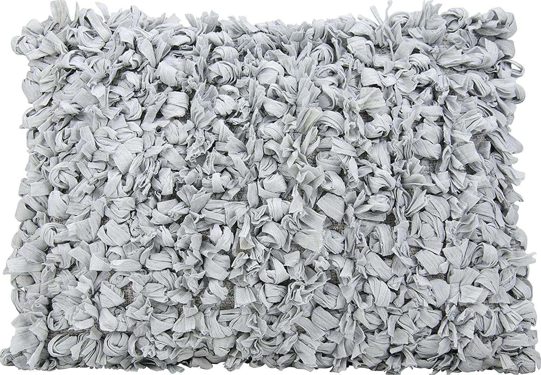 Nourison Mina Victory DL658 Silver Decorative Pillow 20 x 20