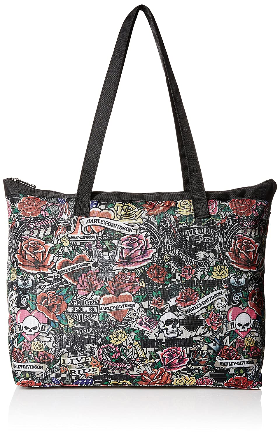 Harley Davidson Shopper Tote, Tattoo