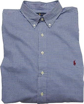 Ralph Lauren Camisa de vestir de sarga a cuadros para hombre ...