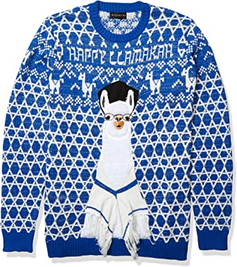 Blizzard Bay Mens Rainbox Tree Ugly Christmas Sweater