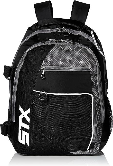 STX Lacrosse Sidewinder Lacrosse Mochila, Negro: Amazon.es: Deportes y aire libre