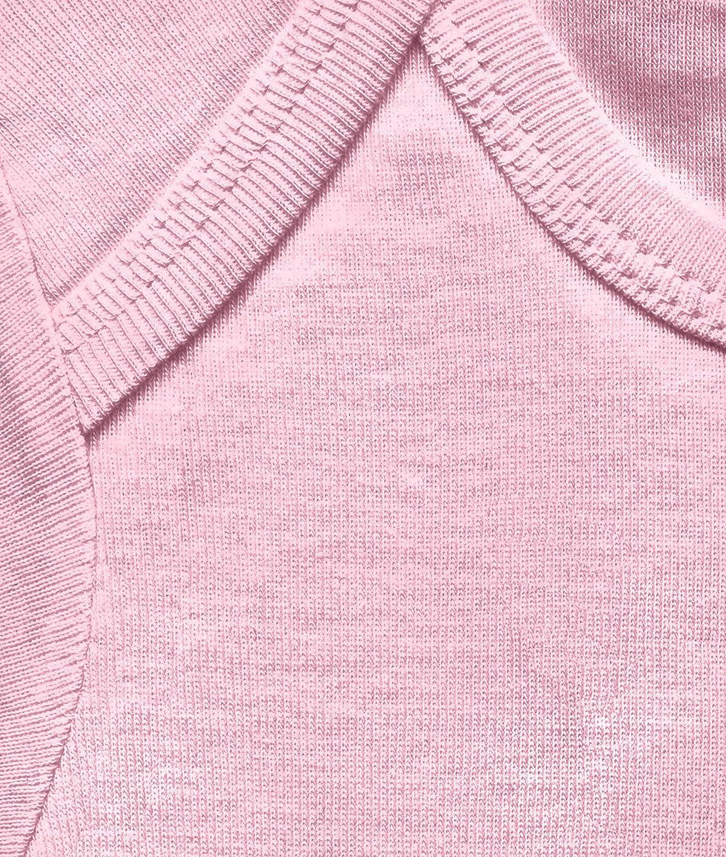 Dise/ño Original con Licencia Rosa Superman Logo Pink Pelele para beb/é DC Comics Logoshirt Body para beb/é Superman Logotipo Rosa